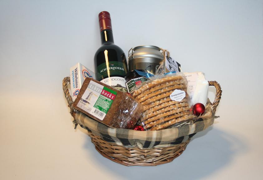 Kerstpakketten hebben we in diverse prijsklassen.
